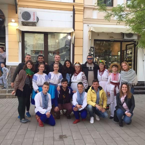 Наші волонтери на семінарі у Македонії