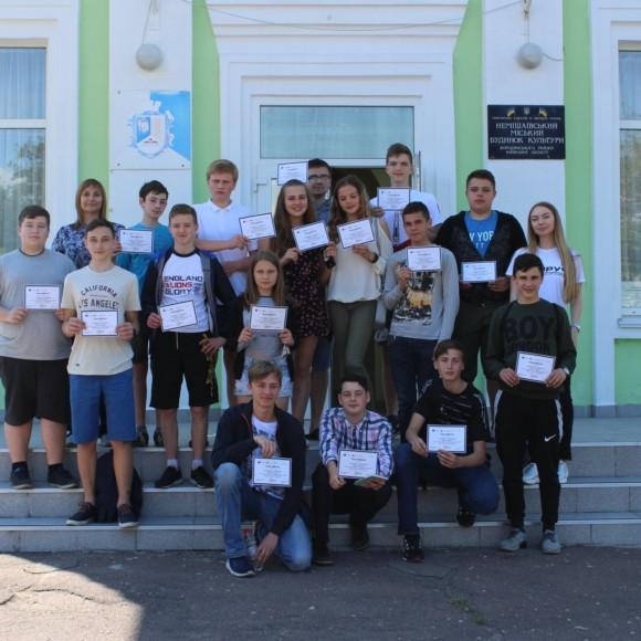 """ГО """"Поруч"""" продовжує тренінги на території Немішаївської селищної ради"""